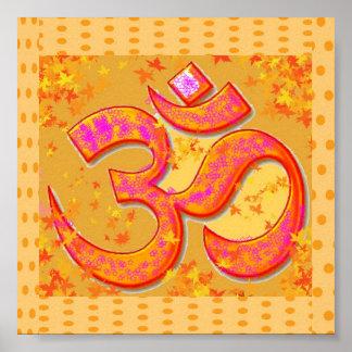 OM Mantra Symbol : OMMANTRA Poster