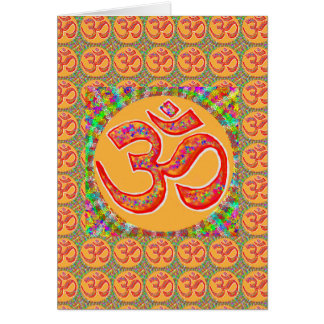 OM MANTRA Symbol : TRUE HOLY ROBE Color Card