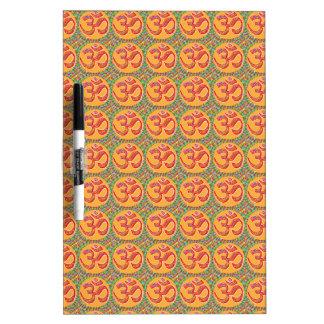 OM MANTRA Symbol : TRUE HOLY ROBE Color Dry-Erase Board