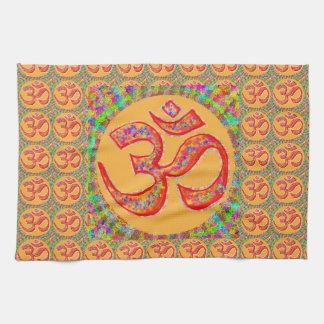 OM MANTRA Symbol : TRUE HOLY ROBE Color Towel