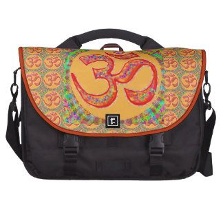OM MANTRA Symbol : TRUE HOLY ROBE Color Laptop Bags