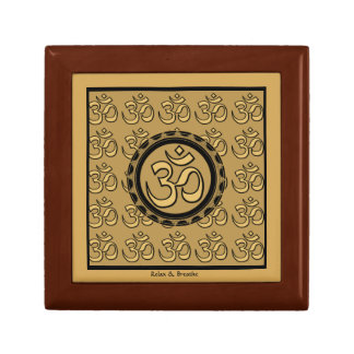 Om Meditation Yoga Relax & Breathe Gift Box Small