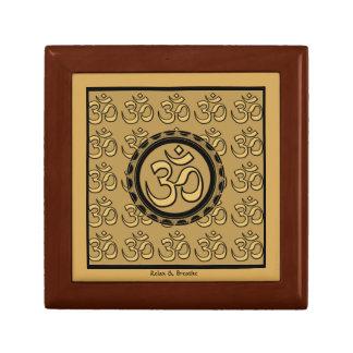 Om Meditation Yoga Relax & Breathe Gift Box Small