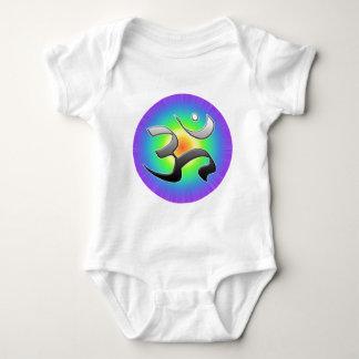 Om Motiv 4 Baby Bodysuit