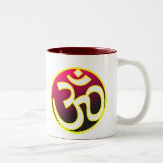 Om Two-Tone Coffee Mug