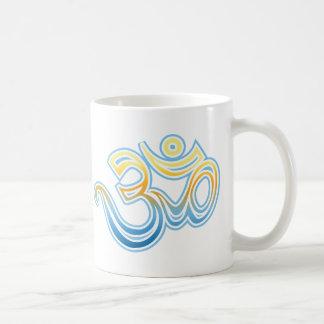 Om Classic White Coffee Mug