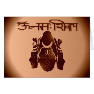 Om Nama Shivay2 Card