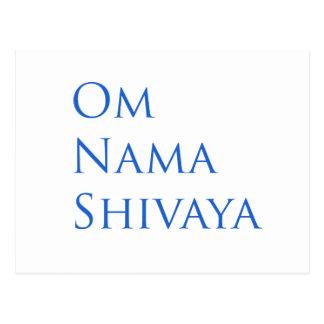 Om Nama Shivaya Post Card