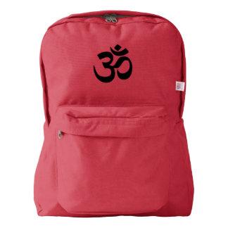 Om Namah Shivaya Aum Shanti Aum Om Symbol ॐ Peace Backpack