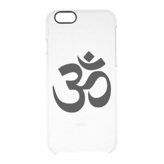 Om Namah Shivaya Aum Shanti Aum Om Symbol ॐ Peace Clear iPhone 6/6S Case