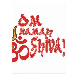 Om Namah Shivaya Postcard