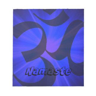 OM Namaste Blocs De Papel