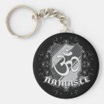 Om Namaste Keychain