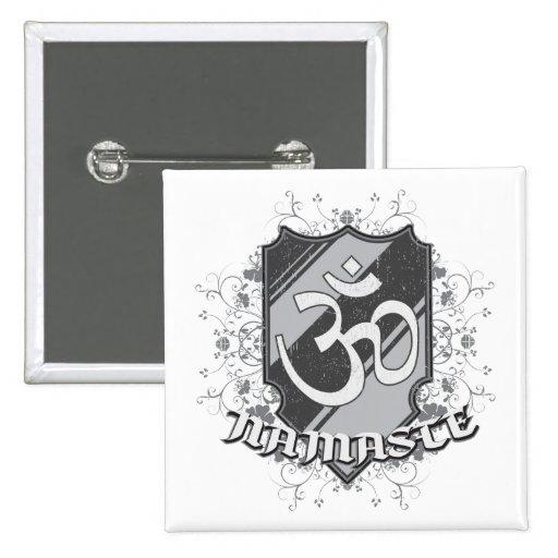 OM Namaste Pin