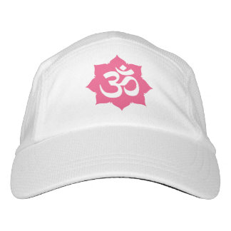 OM Namaste Spiritual Lotus Flower Yoga Hat