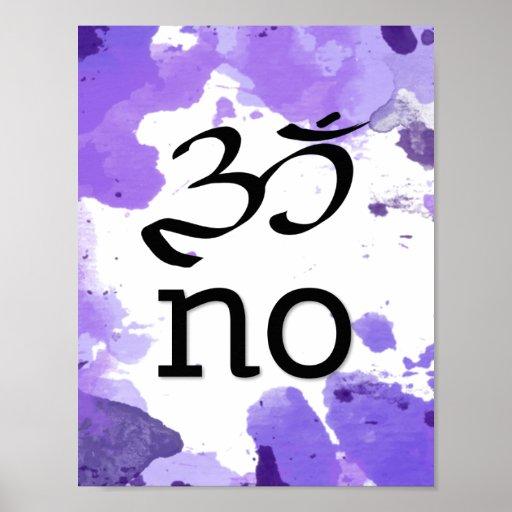 Om no poster