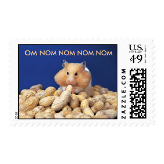 Om Nom Hampster Postage