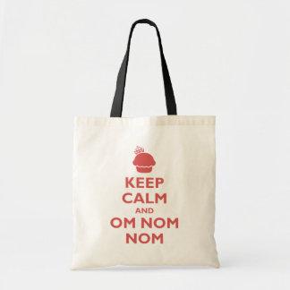 Om Nom Nom Budget Tote Bag