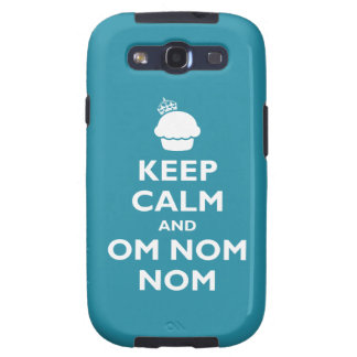 Om Nom Nom Galaxy S3 Covers