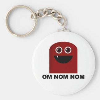 Om Nom Nom Cutie Keychain