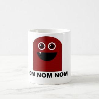 Om Nom Nom Cutie Classic White Coffee Mug