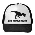 Om Nom Nom Dino Trucker Hats