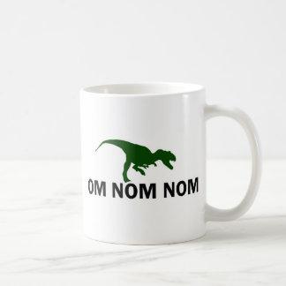 Om Nom Nom Dinosaur Rawr is Hungry Coffee Mug