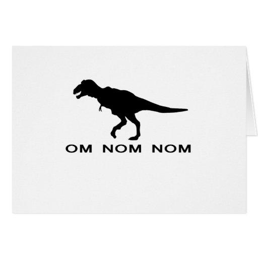 Om Nom Nom Dinosaur Rawr.png Card