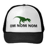 Om Nom Nom Dinosaur Rawr trucker Trucker Hat