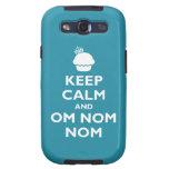 OM Nom Nom Galaxy S3 Fundas