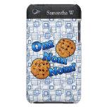 OM Nom Nom, galletas del amor de Meme Cubierta Para iPod De Barely There