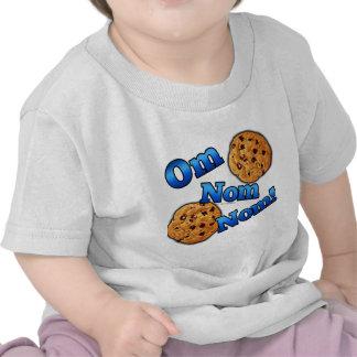 OM Nom Nom, galletas del amor de Meme Camiseta