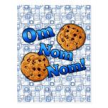 OM Nom Nom, galletas del amor de Meme Postales