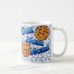 OM Nom Nom, galletas del amor de Meme Taza De Café