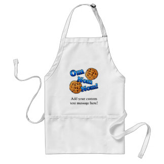 Om Nom Nom, Meme Love Cookies Adult Apron
