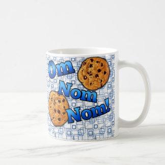 Om Nom Nom, Meme Love Cookies Classic White Coffee Mug