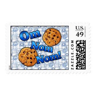 Om Nom Nom, Meme Love Cookies Postage
