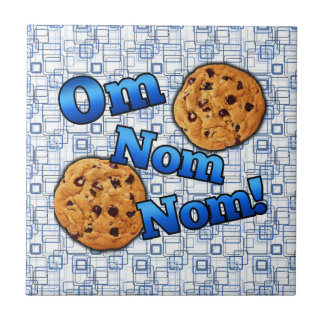 Om Nom Nom, Meme Love Cookies Tile