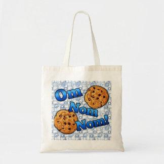 Om Nom Nom, Meme Love Cookies Tote Bag