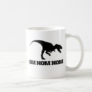Om Nom Nom Classic White Coffee Mug