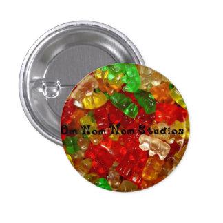 Om Nom Nom Studios Gummi Bears Pinback Button