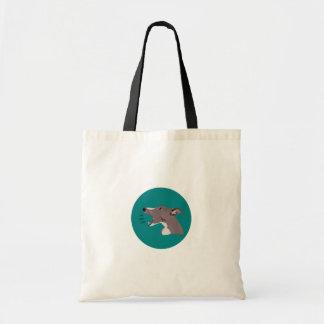 om nom nom Whippet Shopping bag