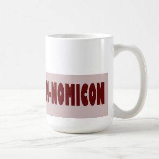 Om-Nom-Nomicon Classic White Coffee Mug