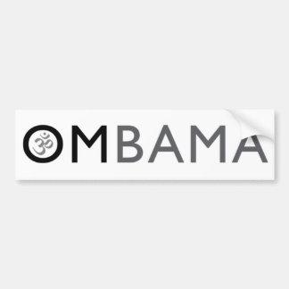 om obama car bumper sticker
