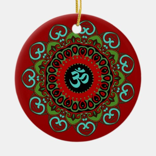 Om of Chaos Ornament