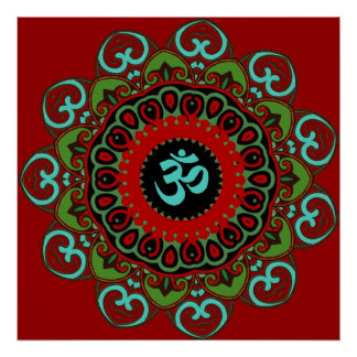 Om of Chaos Print