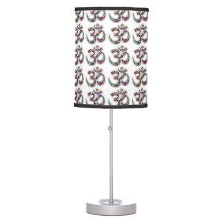 Om Ohm Aum Namaste Yoga Symbol Table_Lamp Table Lamp