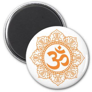 Om - Ohm - Aum Symbol Magnet