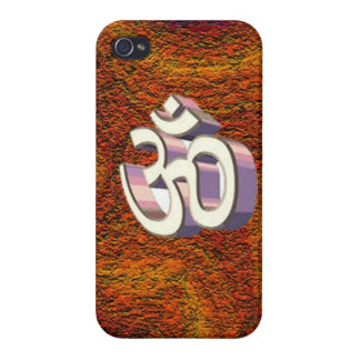 Om, omh Hindu Religious Sign of Peace chant Cases For iPhone 4