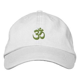Om Omkara Symbol Embroidered Hats